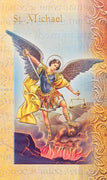Biography Card of St. Michael the Archangel - Unique Catholic Gifts