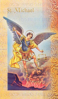 Biography card of Saint Michael