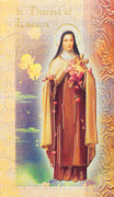 Biography Card of St. Therese of Lisieux - Unique Catholic Gifts