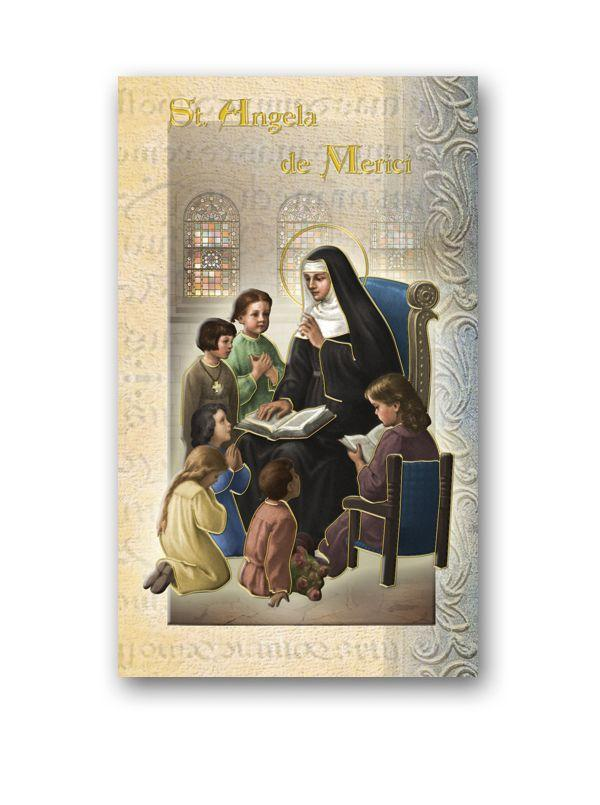 Biography of Saint Angela Merici