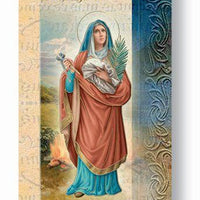 Biography Card of St. Agatha - Unique Catholic Gifts