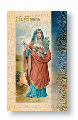 Biography Card of Saint Agatha