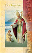 Biography card of Saint Augustine
