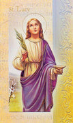 Biography Card of St. Lucy - Unique Catholic Gifts