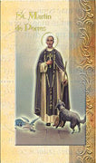 Biography Card of St. Martin de Porres - Unique Catholic Gifts