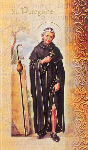 Biography of St. Peregrine Card