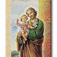 Biography Card of St. Joseph - Unique Catholic Gifts