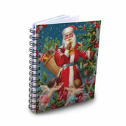 Santa Mini Notebook