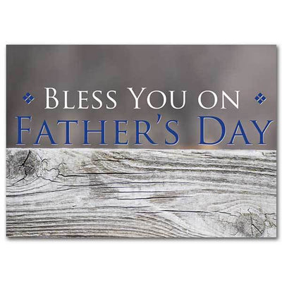 Bless You on Father's Day Father's Day Card - Unique Catholic Gifts