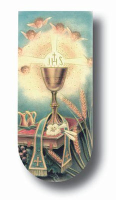 Holy First Communion Magnetic Bookmark - Unique Catholic Gifts