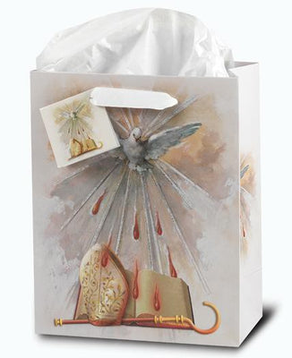 Medium Holy Spirit Confirmation Gift Bag - Unique Catholic Gifts