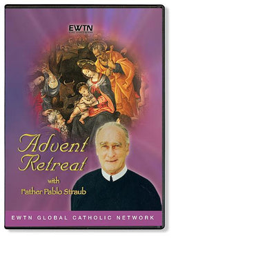 Advent Retreat with Fr. Pablo Straub DVD - Unique Catholic Gifts