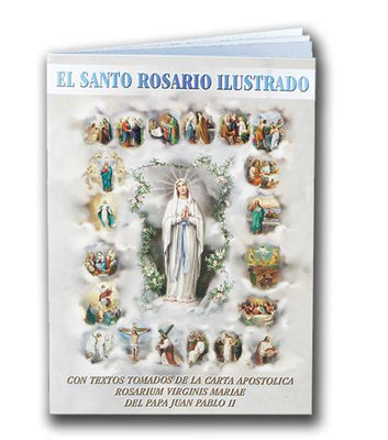 El Santo Rosario Ilustrado (mini) - Unique Catholic Gifts