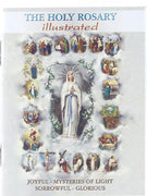The Holy Rosary Illustrated (mini)
