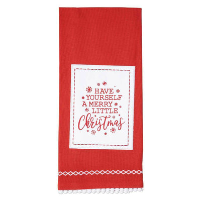 Have Yourself a Merry Little Christmas Tea Towel