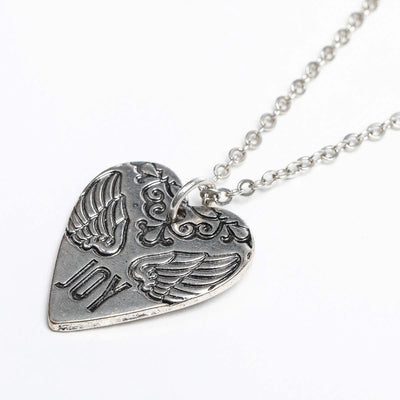 Heart of Joy Necklace (Silver)