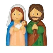 "Holy Family Little Patron Figures 3 1/4"" - Unique Catholic Gifts"