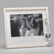 Holy First Communion Frame With Chalice for 4 x 6 picture - Unique Catholic Gifts