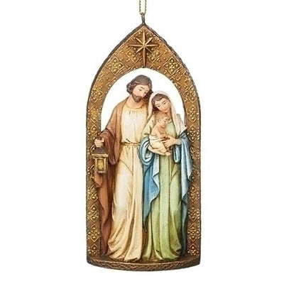 Holy Family Ornament (4.75