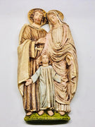 "Holy Family Wall Plaque  (11"")"