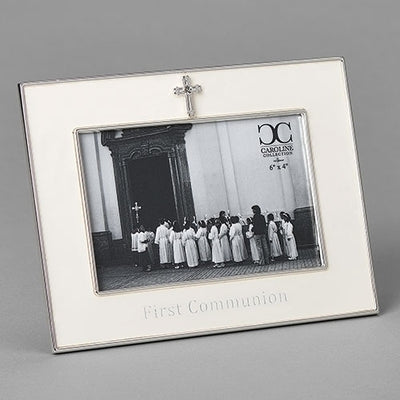 Holy First Communion Frame With Cross  (6