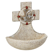 Divine Holy Spirit Holy Water Font - Unique Catholic Gifts
