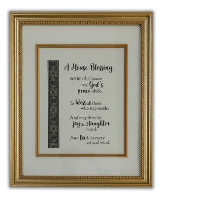 House Blessing Plaque (16 x 12