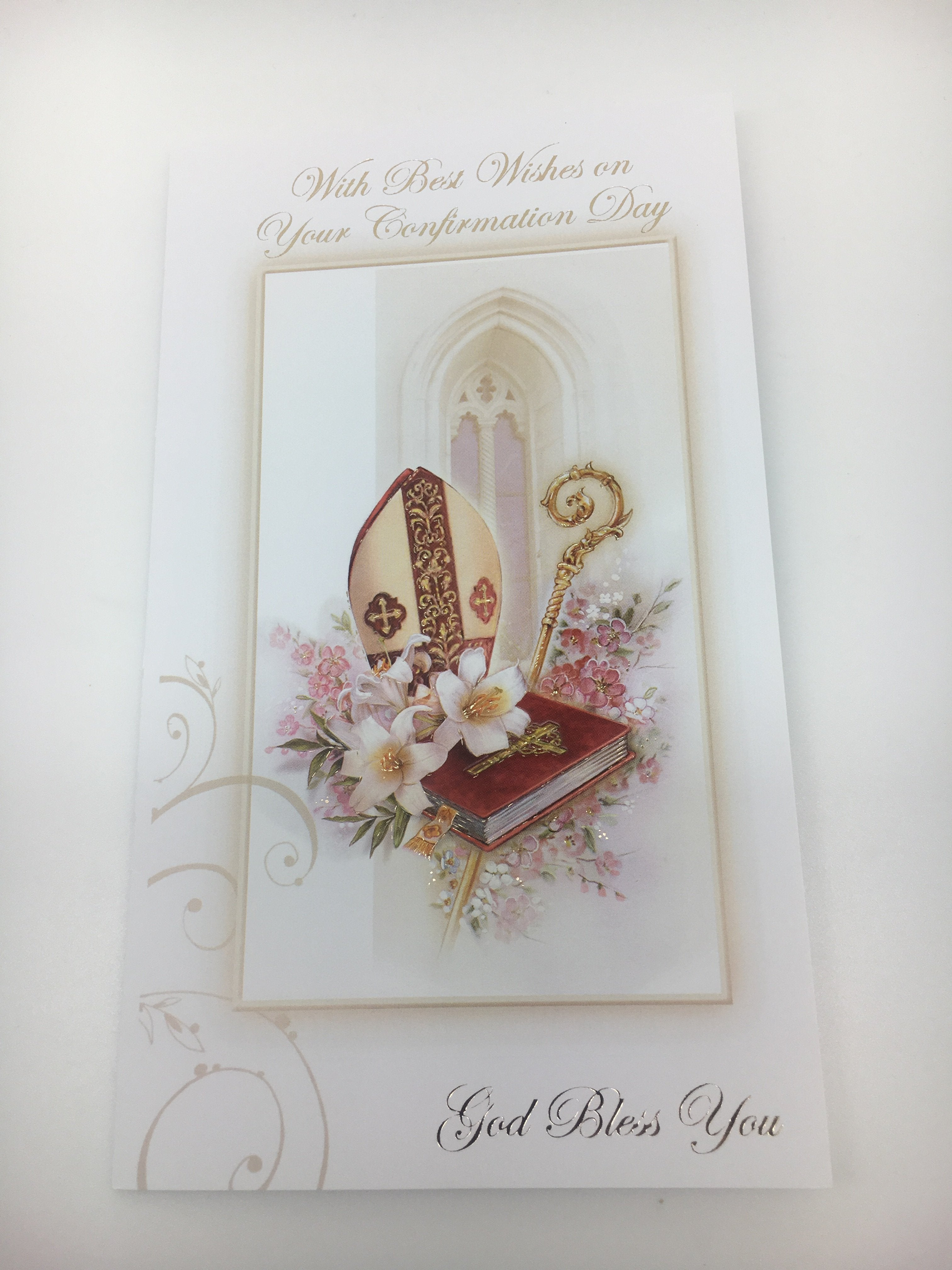Confirmation Greeting Card Unique Catholic Gifts
