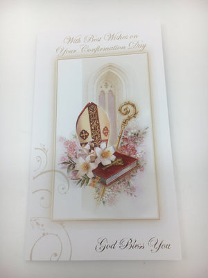 Confirmation Greeting Card - Unique Catholic Gifts