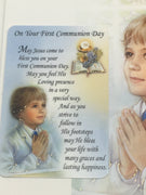 Boys Deluxe First Holy Communion Greeting Card
