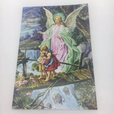 Encouragement Guardian Angel Greeting Card
