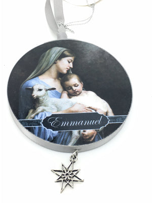 Emanuel Ornament - Unique Catholic Gifts