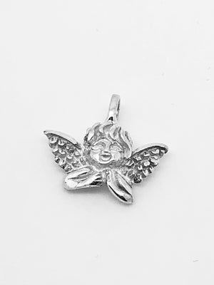Guardian Angel Handcrafted Sterling Silver Medal (1/2