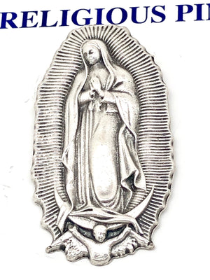 Our Lady of Guadalupe Pin - Unique Catholic Gifts