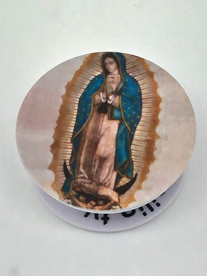 Our Lady of Guadalupe Holy Sockets Pop Socket Cell Phone Accessory