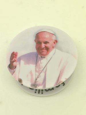 Pope Francis Holy Sockets Pop Socket Cell Phone Accessory