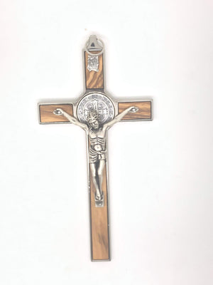 Saint Benedict Wall Crucifix (5