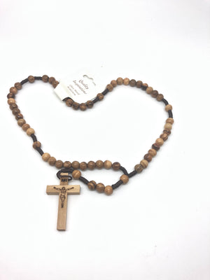 Olive Wood Rosary from the Holy Land