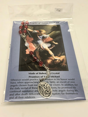 St. Michael Chaplet Beads - Unique Catholic Gifts