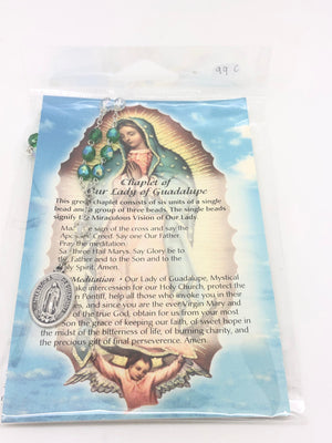 Our Lady of Guadalupe Chaplet - Unique Catholic Gifts