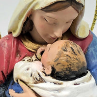 "Mother's Kiss Ornament (5"") - Unique Catholic Gifts"