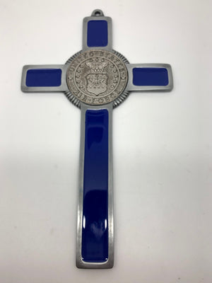 Air force Pewter Military Wall Cross (8