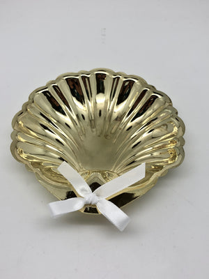 Gold Baptism Shell (4 1/2