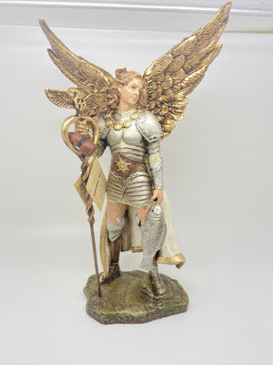 "Saint Raphael Archangel Statue (12"") - Unique Catholic Gifts"
