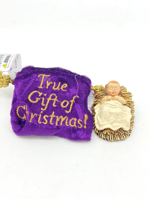 Baby Jesus figurine in a Gift Bag (2