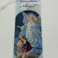 Guardian Angel Bookmark with Tassels