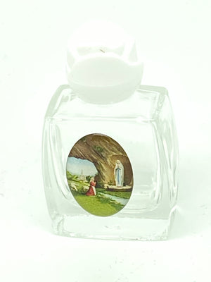 Petite Lourdes Holy Water Bottle - Unique Catholic Gifts