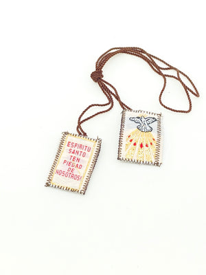 Holy Spirit Brown Scapular - Unique Catholic Gifts