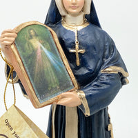 "St Faustina Statue 8"" - Unique Catholic Gifts"