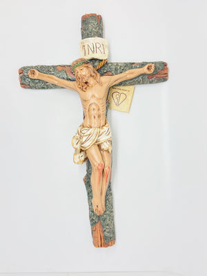 Hand Painted Crucifix  15